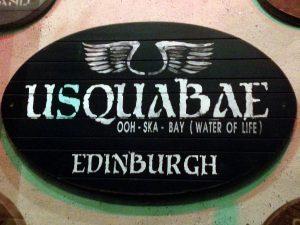 Usquabae Edimburgo