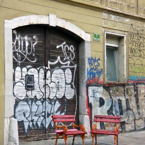 lubiana trubarjeva cesta street art