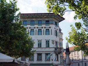lubiana art nouveau secessione viennese