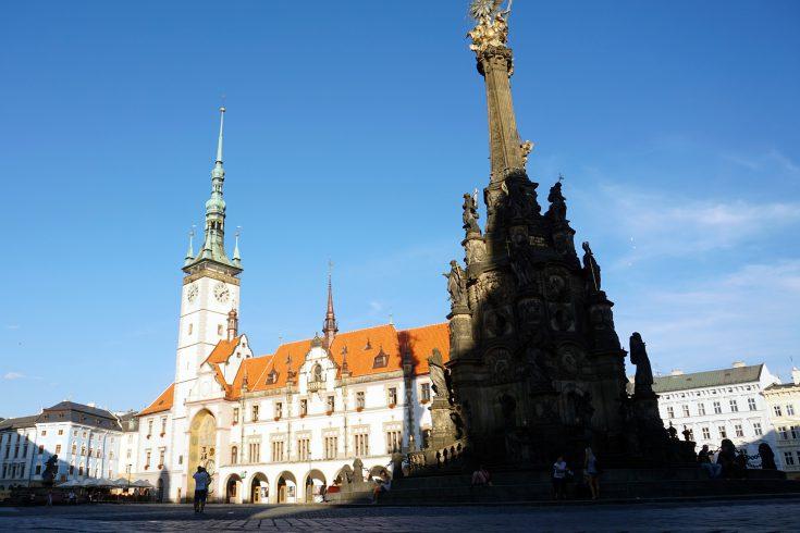 olomouc colonna della peste unesco orologio astronomico repubblica ceca