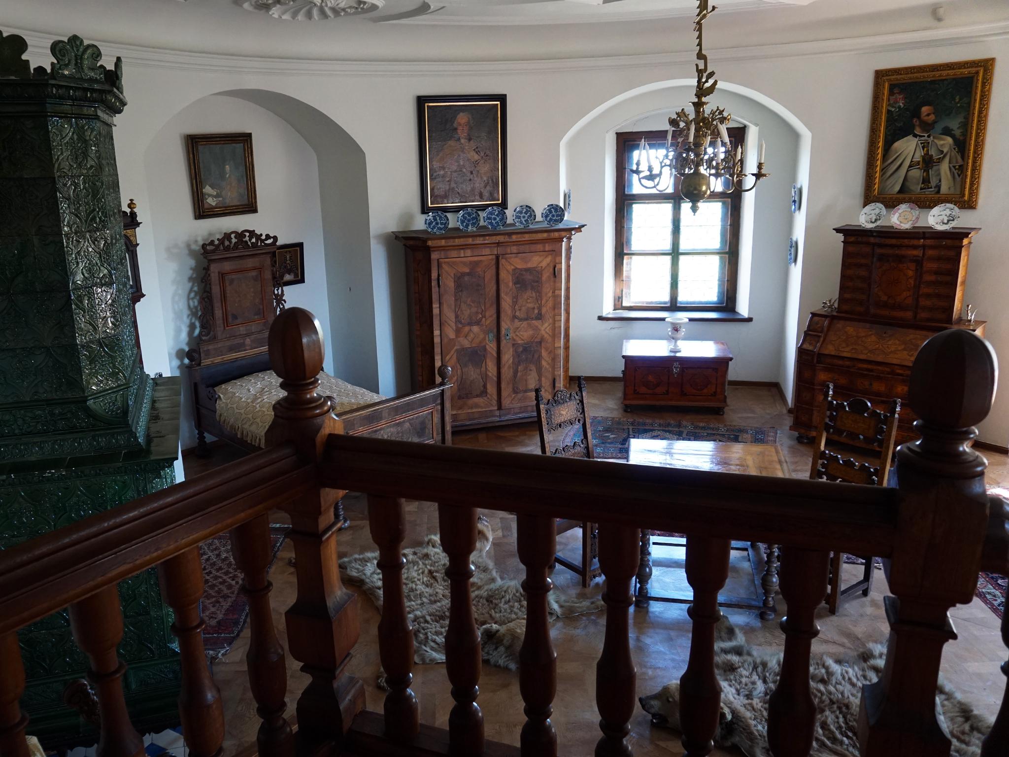 bouzov castello fantaghirò moravia repubblica ceca interni camera