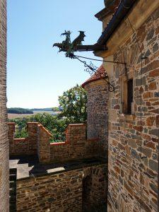 bouzov castello fantaghirò moravia repubblica ceca drago