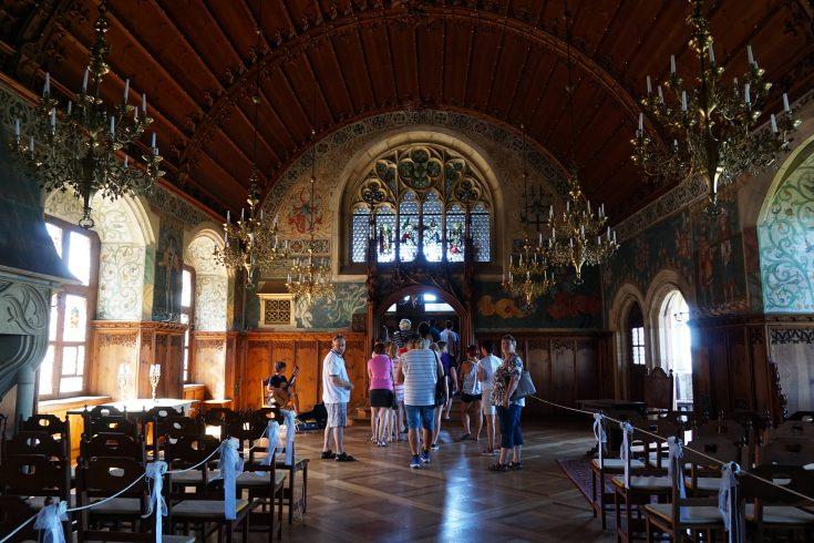 bouzov castello fantaghirò moravia repubblica ceca cappella