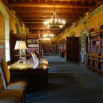 cardiff galles sale interne castello libreria biblioteca