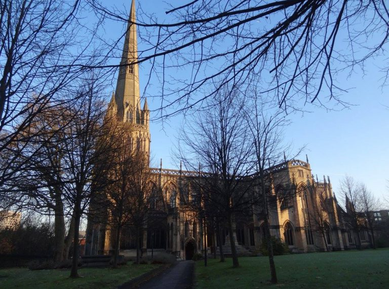 bristol inghilterra chiesa di st mary redcliffe