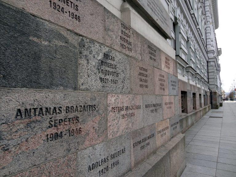museo delle vittime del genocidio nomi vittime regime su mura esterne