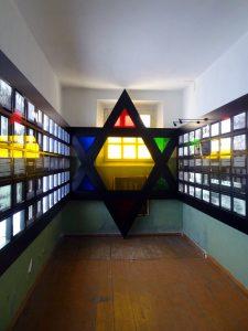 museo delle vittime del genocidio vilnius stanza dedicata ebrei