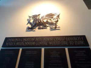cardiff galles drago simbolo nazionale millennium centre