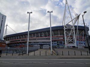 cardiff galles stadio famoso millennium stadium rugby e nazionale calcio