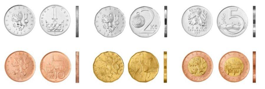 corona ceca monete più piccole