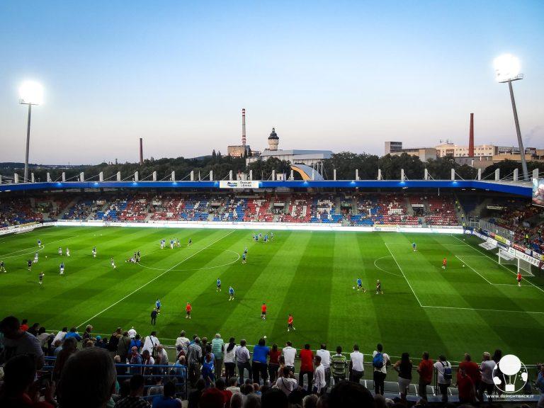La Doosan Arena di Plzen sorge alle spalle del celeberrimo birrificio della Pilsner Urquell