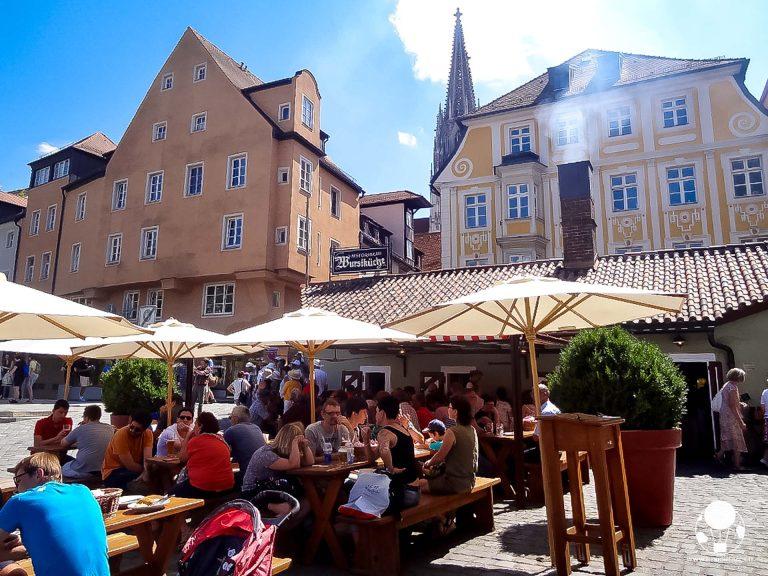 Wurstel e birra, cibi tipici e locali nel cuore di Ratisbona