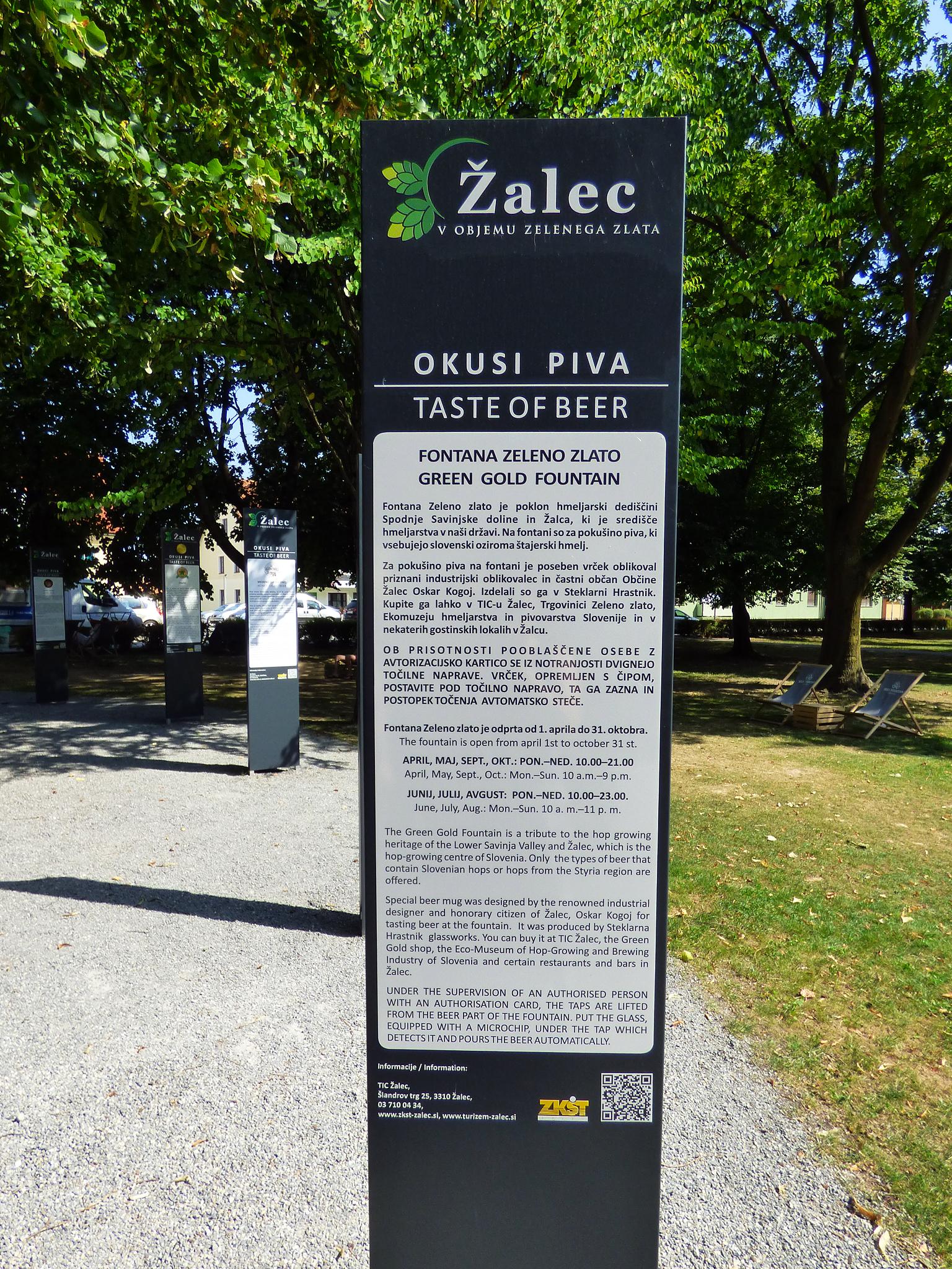 Alec l 39 oro verde e la prima fontana di birra in europa - Diversi tipi di turismo ...