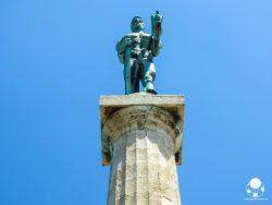 La fortezza di Belgrado custodisce uno dei simboli cittadini, il Pobednik