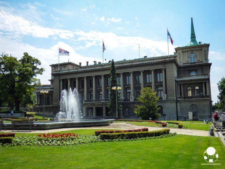 Il vecchio palazzo reale di Belgrado