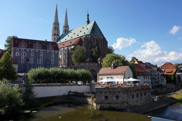 gorlitz cattedrale germania fiume polonia confine