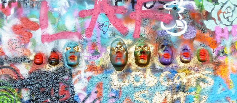 praga muro john lennon arte