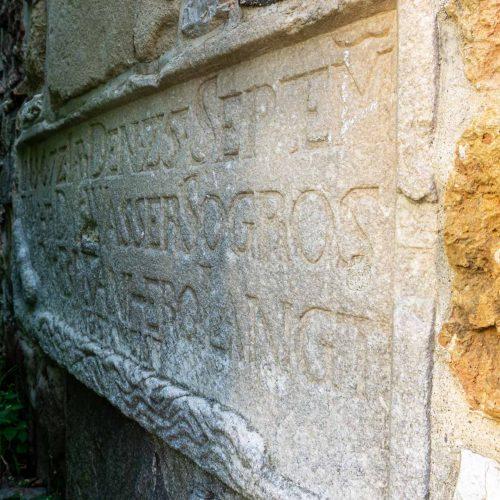 cosa-vedere-a-celje-torre-dell-acqua-iscrizioni-latino-berightback