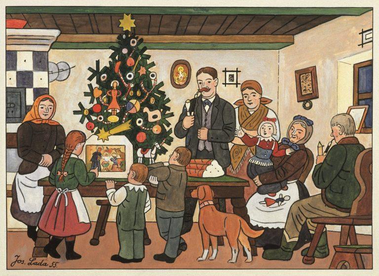 tradizioni natalizie repubblica ceca lada vanoce