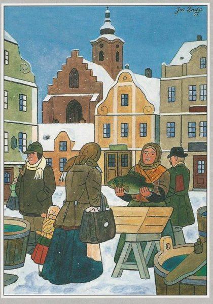 tradizioni natalizie repubblica ceca carpa lada vanoce