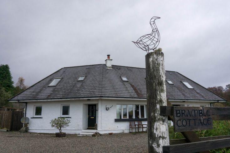 Bramble cottage isola di Mull scozia