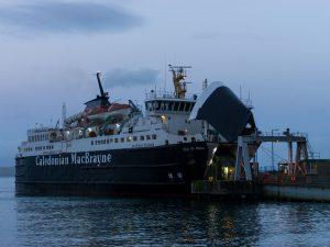 Isola di Mull Craignure traghetto caledonian macbrayne