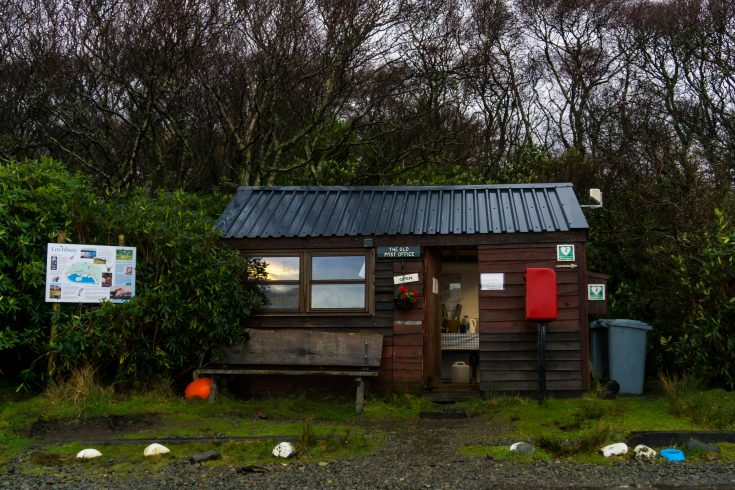 Isle of Mull old post office Lochbuie