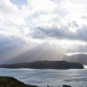 Isola di Mull scozia vista su Eorsa