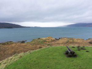 isle of mull duart castle cannone scozia