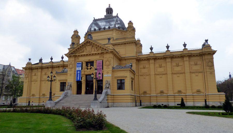 padiglione delle arti parco strossmayer zagabria croazia