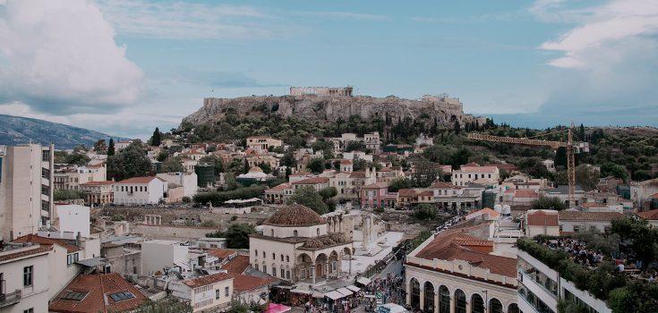 atene acropoli da monastiki