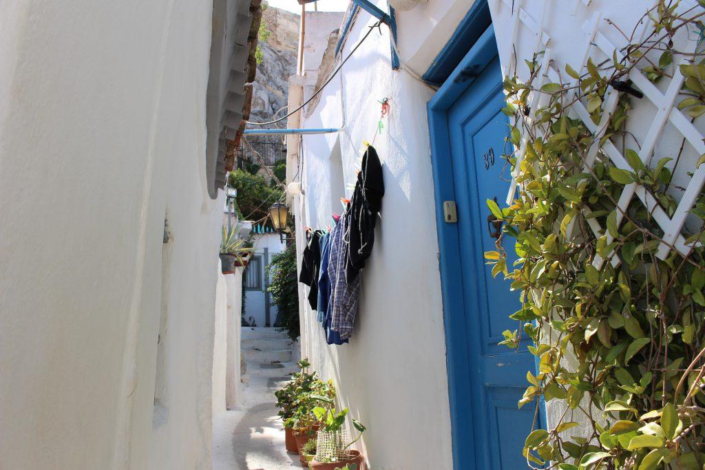 plaka quartiere atene grecia
