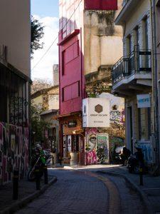 Atene murales grecia escape room psyri