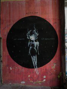Atene street art psyri murales angelo nero no memories