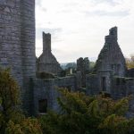 Edimburgo periferia Craigmillar Castle in autunno