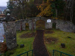 Killin cascate cimitero clan Macnab