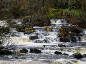 Killin cascate falls of dochart Trossachs National Park