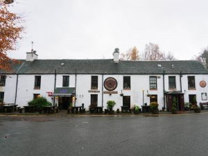 Falls of Dochart Inn taverna e hotel a Killin Trossachs
