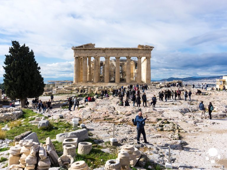 museo acropoli facciata partenone tempio più famoso al mondo