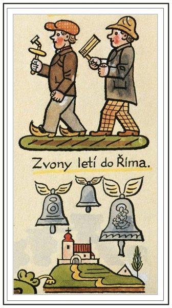 josef lada tradizioni pasqua repubblica ceca campane