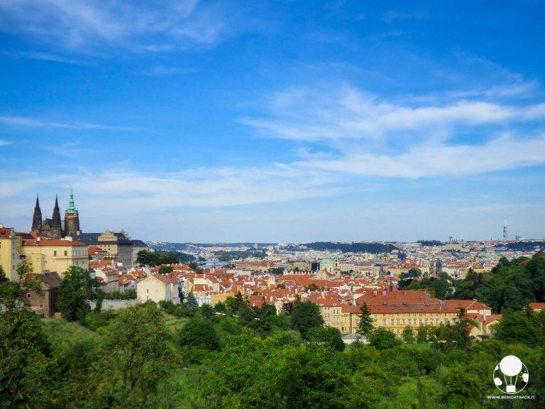 panna marie z exilu monastero strahov panorama su città