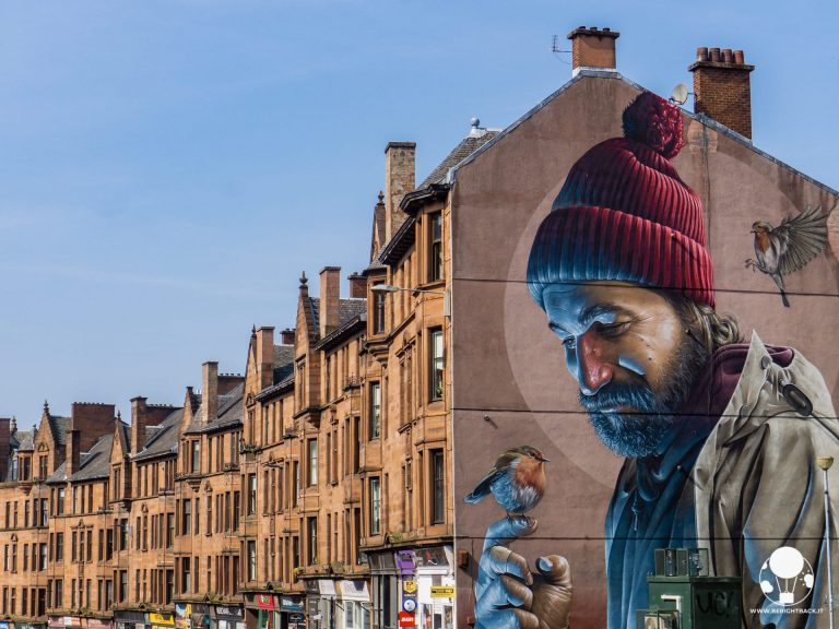 glasgow mural trail high street saint mungo instagram