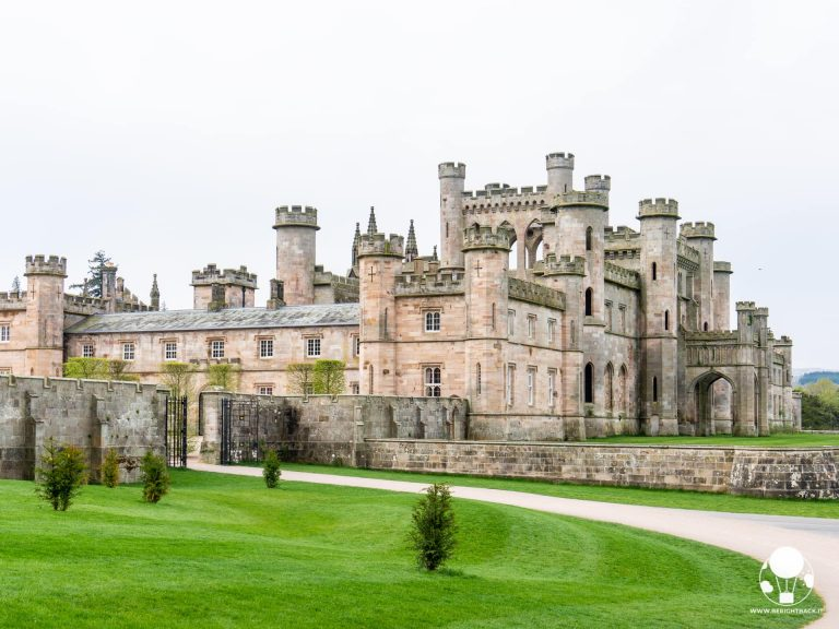 lowther castle ingresso castello inghilterra lake district