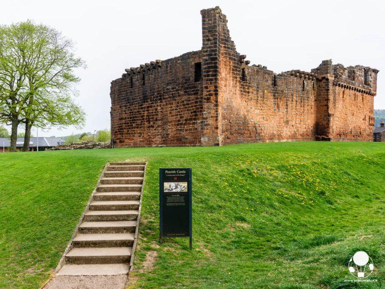 penrith castle resti castello cumbria inghilterra