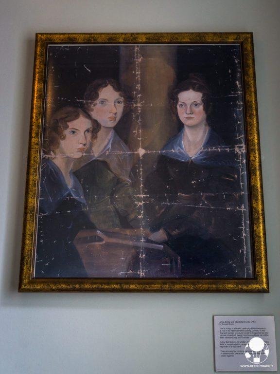 bronte parsonage museum haworth sorelle bronte ritratto