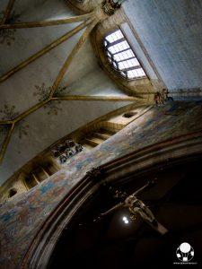 ulma duomo chiesa luterana crocifisso altare
