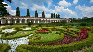 giardini castello kromeriz moravia sito unesco