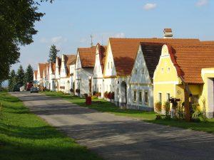 boemia del sud villaggio holasovice unesco