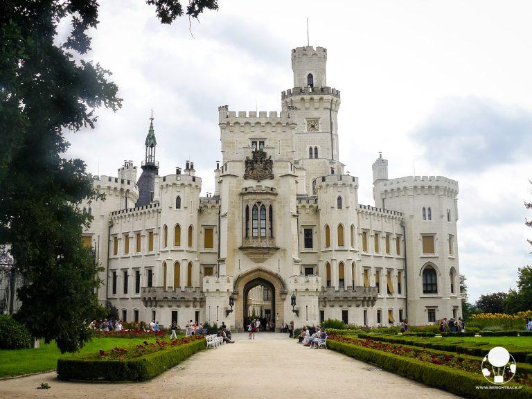 repubblica ceca boemia del sud castello hluboka nad vltavou stile inglese windsor