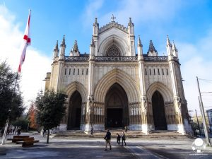 vitoria gasteiz capitale paesi baschi spagna cattedrale nuova santa maria immacolata